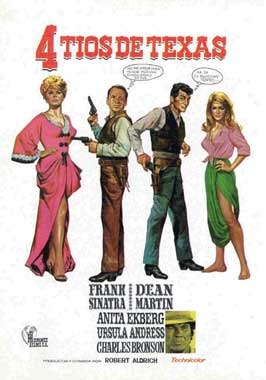4 for Texas - 11 x 17 Movie Poster - Spanish Style A