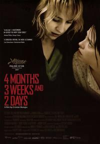 4 Months, 3 Weeks, and 2 Days - 43 x 62 Movie Poster - Bus Shelter Style A