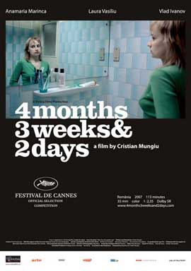 4 Months, 3 Weeks, and 2 Days - 11 x 17 Movie Poster - Style F