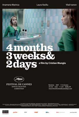 4 Months, 3 Weeks and 2 Days - 27 x 40 Movie Poster - Style A