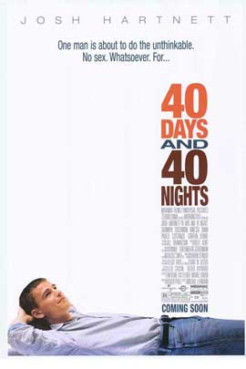 40 Days and 40 Nights - 11 x 17 Movie Poster - Style A