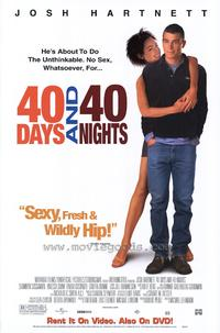 40 Days and 40 Nights - 27 x 40 Movie Poster - Style B