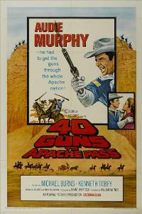40 Guns to Apache Pass - 11 x 17 Movie Poster - Style A