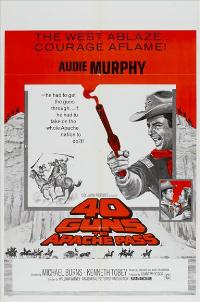 40 Guns to Apache Pass - 11 x 17 Movie Poster - Style B