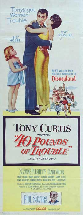 40 Pounds of Trouble - 14 x 36 Movie Poster - Insert Style A