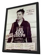 The 400 Blows - 11 x 17 Poster - Foreign - Style C - in Deluxe Wood Frame