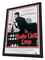 The 400 Blows - 27 x 40 Movie Poster - French Style A - in Deluxe Wood Frame