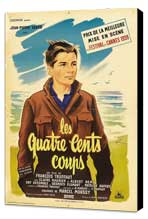 The 400 Blows - 27 x 40 Movie Poster - French Style B - Museum Wrapped Canvas
