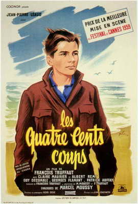 The 400 Blows - 11 x 17 Movie Poster - French Style A