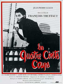 The 400 Blows - 11 x 17 Movie Poster - French Style B
