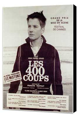 The 400 Blows - 11 x 17 Poster - Foreign - Style C - Museum Wrapped Canvas