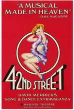 42nd Street (Broadway) - 27 x 40 Movie Poster - Style A