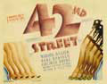 42nd Street - 11 x 14 Movie Poster - Style B