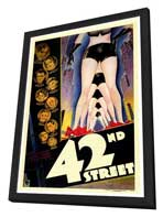 42nd Street - 27 x 40 Movie Poster - Style A - in Deluxe Wood Frame