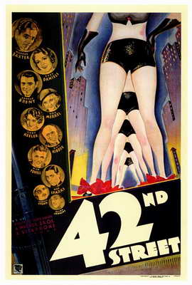 42nd Street - 27 x 40 Movie Poster