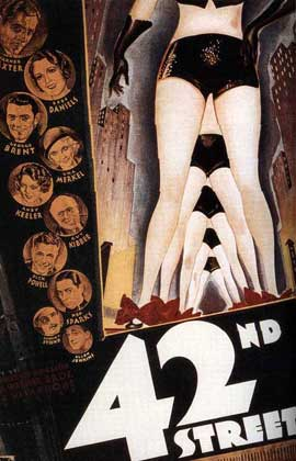 42nd Street - 11 x 17 Movie Poster - Style B