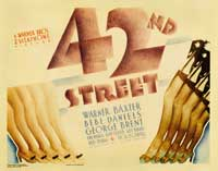 42nd Street - 22 x 28 Movie Poster - Half Sheet Style A