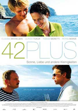 42plus - 11 x 17 Movie Poster - German Style A