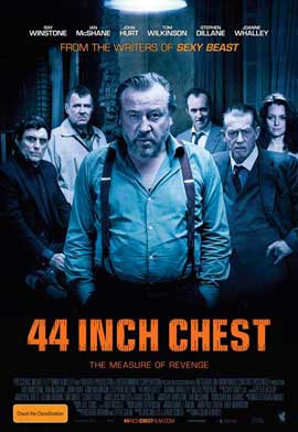 44 Inch Chest - 27 x 40 Movie Poster - Australian Style A