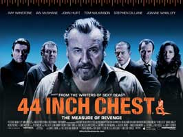44 Inch Chest - 30 x 40 Movie Poster UK - Style A