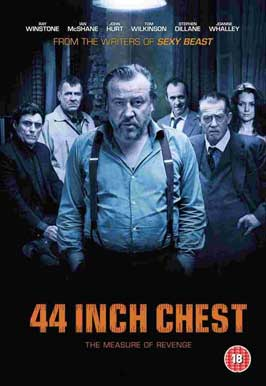 44 Inch Chest - 11 x 17 Movie Poster - Style A