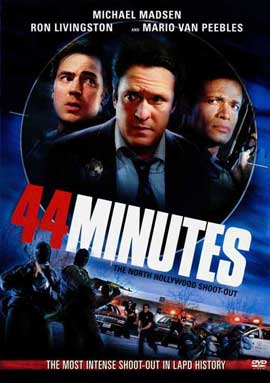 44 Minutes: The North Hollywood Shoot-Out - 11 x 17 Movie Poster - Style A