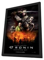 47 Ronin - 11 x 17 Movie Poster - Style A - in Deluxe Wood Frame