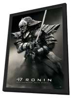47 Ronin - 11 x 17 Movie Poster - Style C - in Deluxe Wood Frame