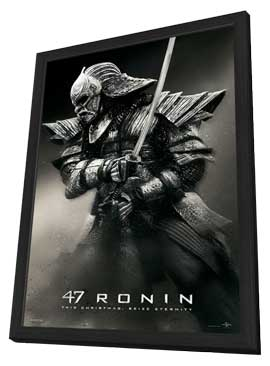 47 Ronin - 27 x 40 Movie Poster - Style C - in Deluxe Wood Frame