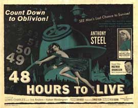 48 Hours to Live - 22 x 28 Movie Poster - Half Sheet Style A