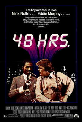 48 Hrs. - 27 x 40 Movie Poster - Style A