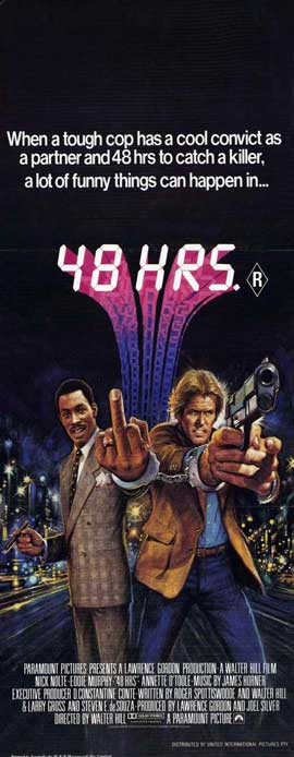 48 Hrs. - 14 x 36 Movie Poster - Insert Style A