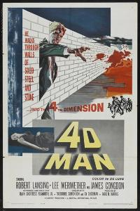 The 4D Man - 43 x 62 Movie Poster - Bus Shelter Style B
