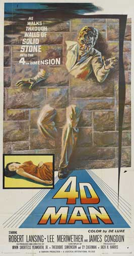 The 4D Man - 20 x 40 Movie Poster - Style A