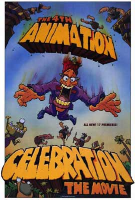 4th Animation Celebration The Movie - 11 x 17 Movie Poster - Style A