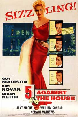 5 Against the House - 27 x 40 Movie Poster - Style A