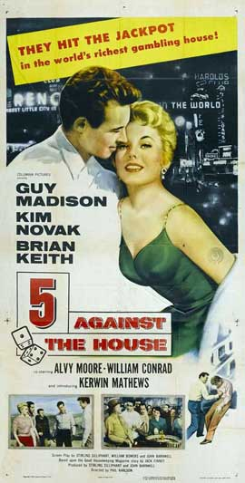 5 Against the House - 11 x 17 Movie Poster - Style B