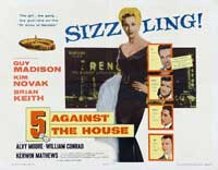 5 Against the House - 22 x 28 Movie Poster - Half Sheet Style A