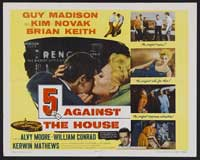 5 Against the House - 22 x 28 Movie Poster - Half Sheet Style B