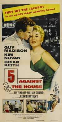 5 Against the House - 20 x 40 Movie Poster - Style A