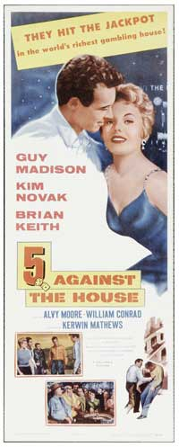 5 Against the House - 20 x 40 Movie Poster - Style B