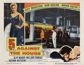 5 Against the House - 11 x 14 Movie Poster - Style A