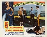 5 Against the House - 11 x 14 Movie Poster - Style E