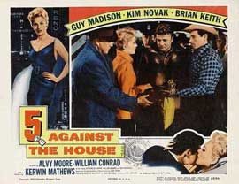 5 Against the House - 11 x 14 Movie Poster - Style G