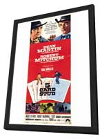 5 Card Stud - 11 x 17 Movie Poster - Style B - in Deluxe Wood Frame