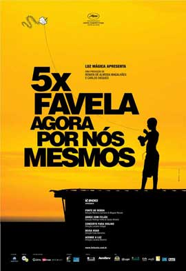 5 x Favela, Now by Ourselves - 27 x 40 Movie Poster - Spanish Style A