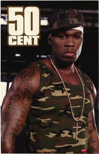 50 Cent - Music Poster - 22 x 34 - Style A