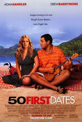 50 First Dates - 27 x 40 Movie Poster - Style A