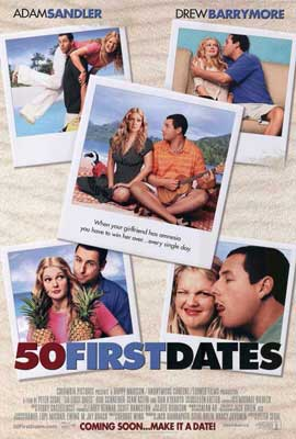 50 First Dates - 27 x 40 Movie Poster - Style B