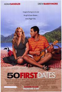 50 First Dates - 43 x 62 Movie Poster - Bus Shelter Style A